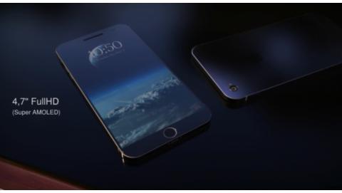 Bản Concept iPhone 7 cứng cáp, sang trọng nhờ 2 mép viền cạnh bên siêu mỏng