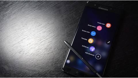 Samsung Galaxy Note FE xách tay về Việt Nam giá bao nhiêu?