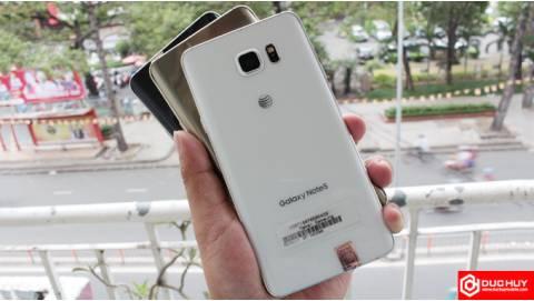 Hướng dẫn kiểm tra Samsung Galaxy Note 5 Mỹ chuẩn nhất