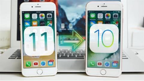 Hướng dẫn hạ iOS 11 xuống iOS 10.3.2 không mất dữ liệu