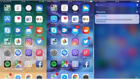 So sánh nhanh HDH iOS 11 (Beta) với iOS 10