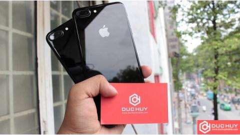 Hình ảnh iPhone 7 Plus Lock đen bóng bẩy, giá hấp dẫn iFan