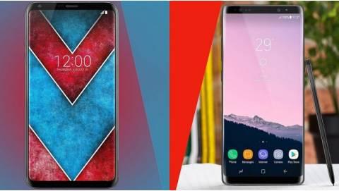 So sánh LG V30 Plus và Galaxy Note 8 Mỹ: Chọn LG hay Samsung?