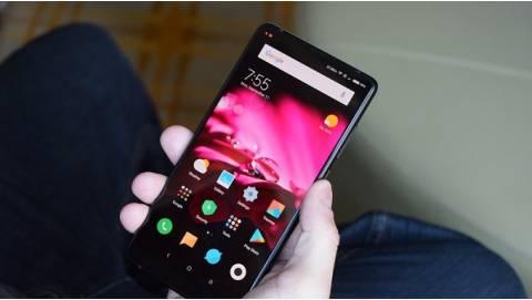 Ảnh Xiaomi Mi Mix 2 siêu mỏng RAM 8GB, Snapdragon 835