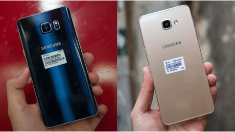 Bộ đôi smartphone Samsung RAM 4GB 2 SIM nên mua