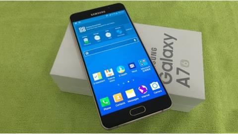 Cận cảnh Samsung Galaxy A7 2016 nguyên seal, giá 6 triệu