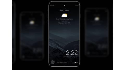 Concept iPhone 8 ngã gục ngay từ cái nhìn đầu tiên với Dark Mode