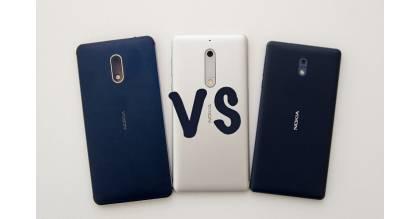 Đọ cấu hình Nokia 3, Nokia 5 và Nokia 6