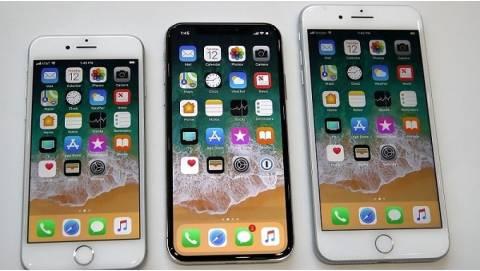 Giá bán iPhone X, iPhone 8 và 8 Plus khi về Việt Nam lộ diện