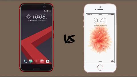 Mua HTC 10 cũ hay iPhone SE trôi bảo hành tầm giá 5 triệu?