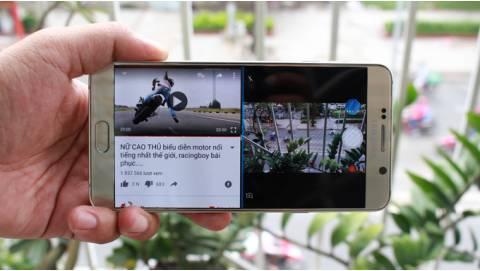 Hướng dẫn chia đôi màn hình trên Galaxy Note 5 giá rẻ