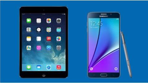 Có 5 triệu mua iPad Mini 2 cũ hay Note 5 tốt hơn cho công việc?
