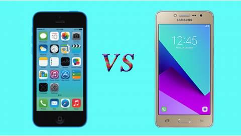 Nên mua iPhone 5C giá rẻ hay Galaxy J2 Prime công ty?