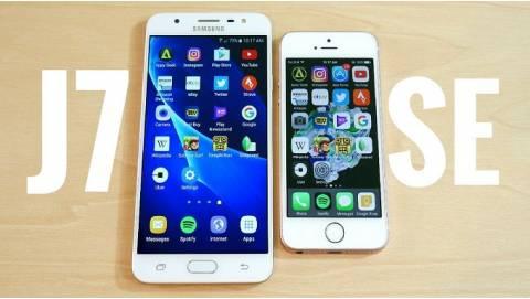 So sánh iPhone SE trôi bảo hành và Galaxy J7 Prime giá rẻ