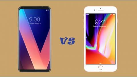 So sánh LG V30 Plus và iPhone 8 Plus: Đối thủ xứng tầm?