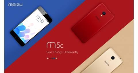 Meizu M5c - Màn hình 5.0 inch, pin 3,000 mAh, chạy Flyme 6