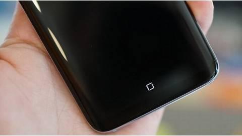 Mở khóa màn hình Samsung Galaxy S8 bằng nút Home ảo