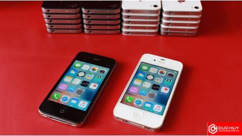 iPhone 4 chưa active đang chạy iOS mấy, tốc độ ra sao?