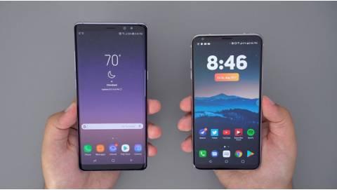 Nên mua Samsung Galaxy Note 8 hay LG V30 thời điểm này?