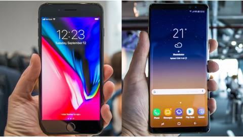 Tầm 16-17 triệu mua Galaxy Note 8 Mỹ hay iPhone 8 Plus cũ?