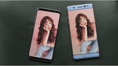 Nên mua Samsung Galaxy S8 công ty hay Galaxy Note FE?