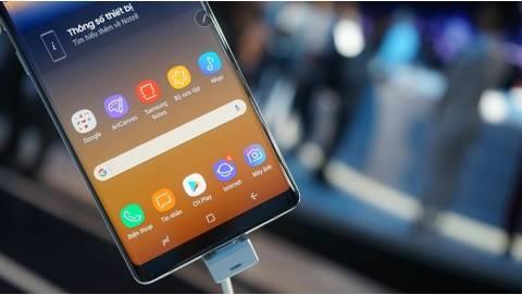Ảnh siêu đẹp Samsung Galaxy Note 8 chính hãng tại Việt Nam