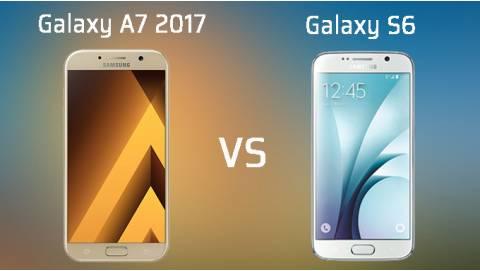 Samsung Galaxy A7 2017 công ty giá 6 triệu áp đảo Galaxy S6