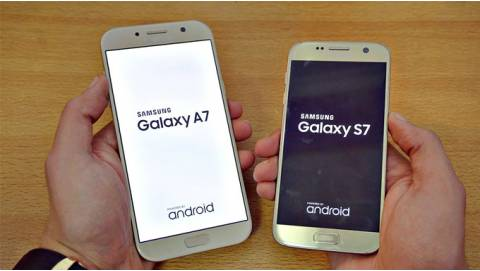 VIDEO: Với 6 triệu, chọn mua Samsung Galaxy S7 hay A7 2017?