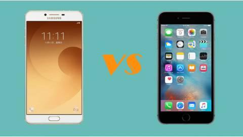 Tầm 9 triệu nên mua Samsung Galaxy C9 Pro hay iPhone 6s?