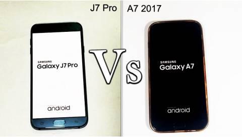 Nên mua Samsung Galaxy J7 Pro hay Galaxy A7 2017?