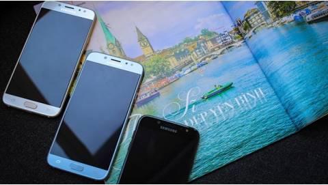 Samsung Galaxy J7 Pro sở hữu 3 tính năng ấn tượng