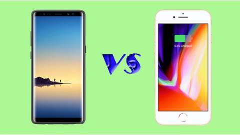 So sánh Samsung Galaxy Note 8 và iPhone 8: Đắt hơn mới tốt?