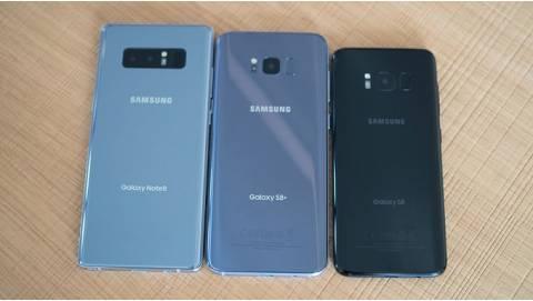 Bộ ba Galaxy S8, S8 Plus và Note 8 cũ đồng loạt giảm giá