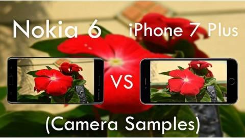 So sánh camera của Nokia 6 và iPhone 7 Plus