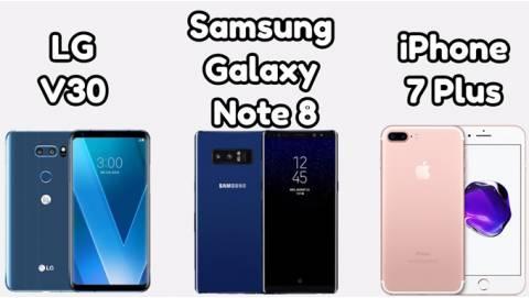 So sánh Galaxy Note 8 và các đối thủ ở tầm giá dưới 17 triệu