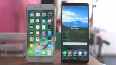 Mua Samsung Galaxy Note 8 hay iPhone 7 Plus với giá 16 triệu?