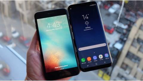 So sánh Galaxy S8 cũ và iPhone 6S Plus: Nên mua máy nào?
