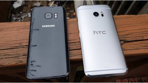Mua smartphone cũ tầm 5 triệu, chọn HTC 10 hay Galaxy S7?