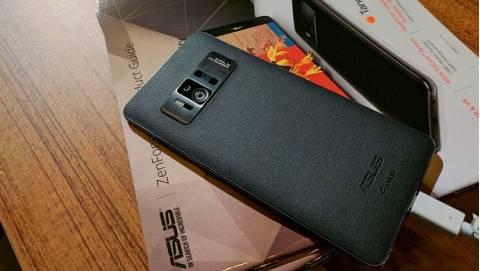 Trên tay nhanh Asus Zenfone AR - RAM 8GB, camera 23MP