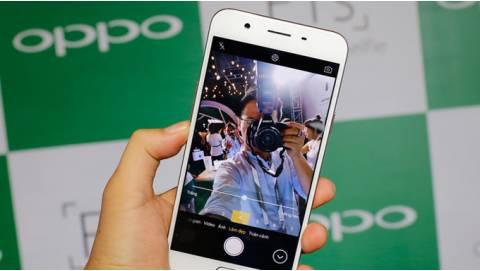 Trên tay Oppo F1s chính hãng tại Việt Nam
