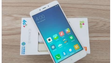 Xiaomi Redmi Note 4 RAM 4GB cao cấp ra mắt, giá hấp dẫn