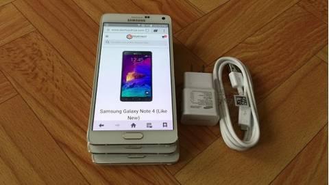 Cận cảnh Samsung Galaxy Note 4 Hàn Quốc giá 6 triệu tại Duchuymobile.com