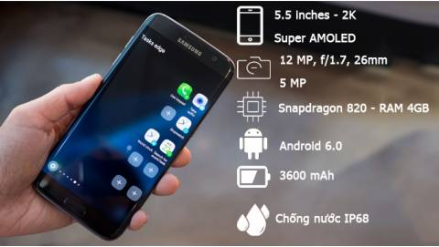 iPhone 6 Plus tái chiến Samsung Galaxy S7 Edge sau đợt giảm sâu