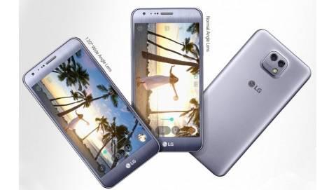 LG X Cam : Màn hình 5.2inch, camera kép 13MP 78° và 5MP 120°