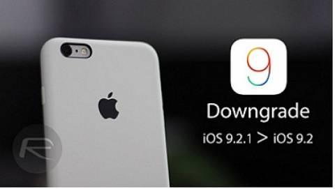 Hướng dẫn hạ cấp từ iOS.9.2.1 xuống iOS 9.2