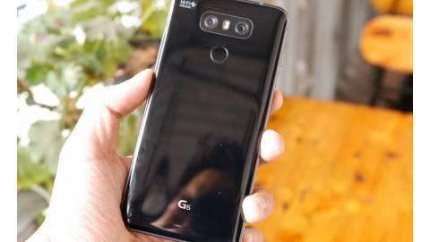 Trên tay LG G6: Màu đen quyến rũ, bộ đôi camera kép siêu khủng