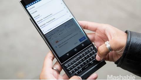 BlackBerry Priv - Siêu phẩm nắm giữ số phận của Dâu đen
