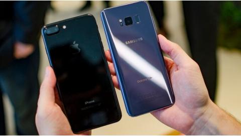 Galaxy S8 Plus và iPhone 7 Plus đọ tốc độ phần thắng thuộc về ai?