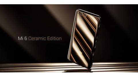 Hình ảnh Xiaomi Mi6 Ceramic Edition: viền vàng 18K cao cấp