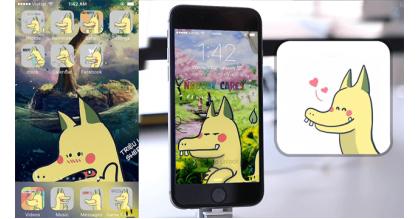Hướng dẫn cài theme Pikagon cho iPhone không cần jailbreak